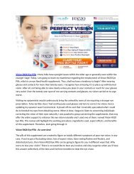 Vision RX20 2019 : How Your Vision Changes As You Age?