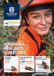 Husqvarna Herbstaktion - Hünnekens