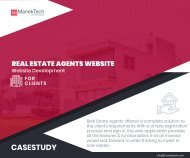 Real Estate Agents Website
