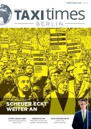 Taxi Times Berlin - März / April 2019