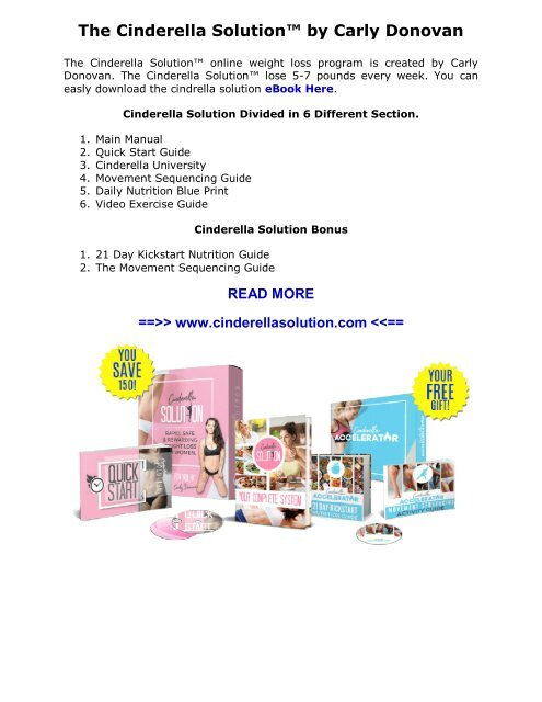 Cheap Cinderella Solution  Diet Fake And Real