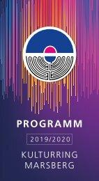 Kulturring Programm 2019-WEB