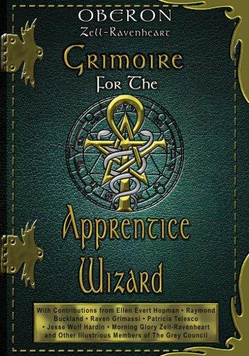 Grimoire for the Apprentice Wizard