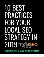10 Best Practices for Local SEO in 2019 & 2020