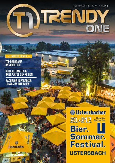 TRENDYone | Das Magazin - Augsburg - Juli 2018