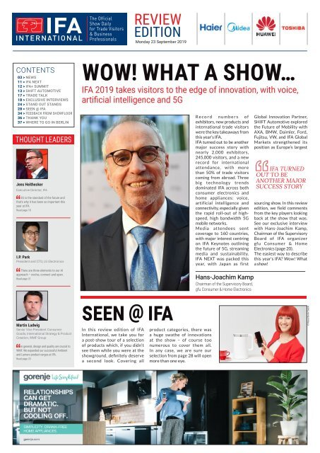 IFA International 2019 Review Edition