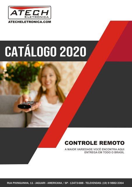 ATECHELETRONICA.COM - Catálogo Controle Remoto Atacado (Edição 2020)