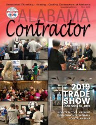 Alabama Contractor Fall 2019