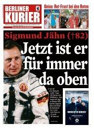 Berliner Kurier 23.09.2019