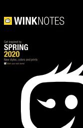 Spring 2020 WonderWink Wink Notes New Products