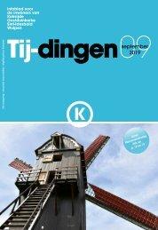 Infoblad Tij-dingen, editie september 2019