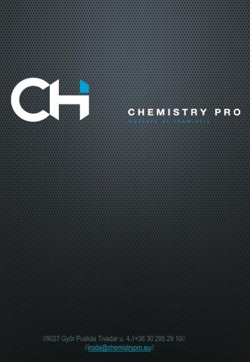 CHEMISTRY PRO
