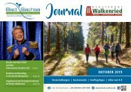 Gästejournal Bad Sachsa & Walkenried Oktober 2019
