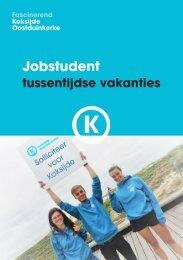 Brochure jobstudenten tussentijdse vakanties 2019-2020