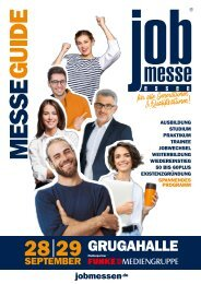 Der MesseGuide zur 5. jobmesse essen 2019