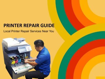 Best Printer Repair Service Near Me | On-site Support and  Maintenance