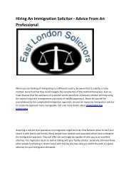 4 immigration solicitors east london