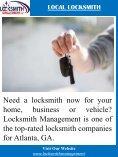 Atlanta Locksmith - Page 5