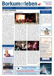 25.09.2019 / Borkumerleben - Die Wochenzeitung