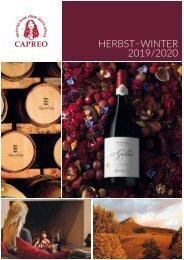 CAPREO Winterkatalog 2019