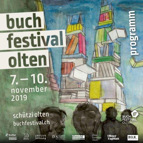 Buchfestival Olten - Programm 2019