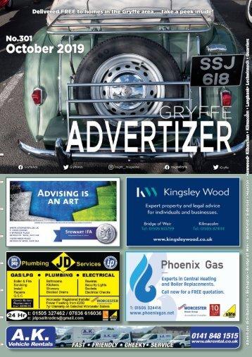 301 OCTOBER 19 - Gryffe Advertizer