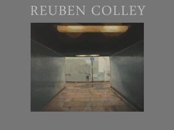 Reuben Colley New Work Autumn 2019