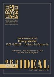 Der Niebler - Naturschlafexperte - Was zeichnet uns aus...