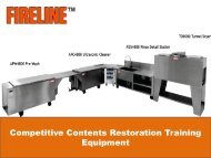 Competitive Contents Restoration Training Equipment