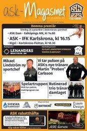 Anderstorps SKs höstmatchmagasin 2019/2020