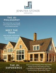 The JSI Experience - New Construction and Renovations