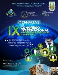 Memorias IX Congreso Internacional 2019