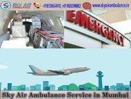 Sky Air Ambulance in Mumbai with Expert Paramedics