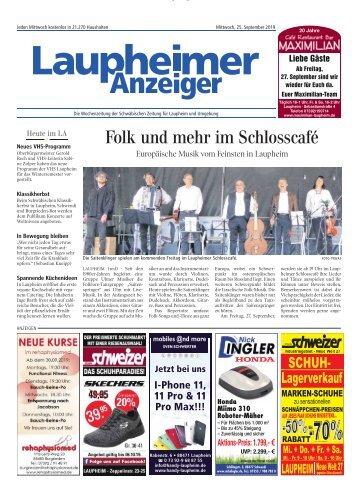 Laupheimer Anzeiger 25.09.2019