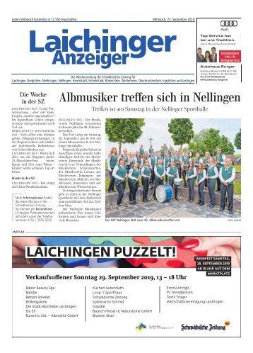 Laichinger Anzeiger 25.09.2019