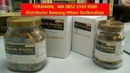 TERJAMIN,  WA 0852 1533 9500 Distributor Bawang Hitam Tasikmalaya