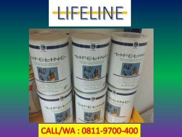 DISTRIBUTOR  CALL/WA 0811-9700-400 Vitamin Tulang LIFELINE