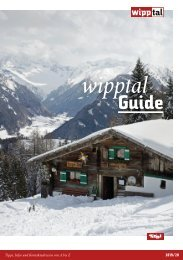 Wipptal Guide
