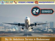 Rent Excellent and Dependable Air Ambulance in Bhubaneswar