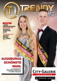 TRENDYone | Das Magazin - Augsburg - Oktober 2019