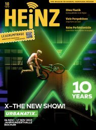 10_2019 HEINZ MAGAZIN Duisburg, Oberhausen, Mülheim