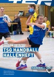 TSG Reutlingen 1843 e.V. Handball Hallenheft 2019