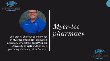 Myer-lee pharmacy