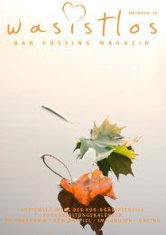 wasistlos Bad Füssing Magazin Oktober 2019