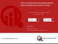 Paper and Paperboard Packaging Market