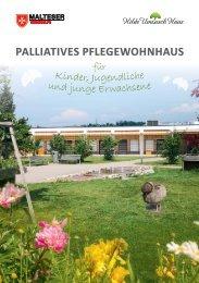 Palliatives Pflegewohnhaus für Kinder, Jugendliche und junge Erwachsene