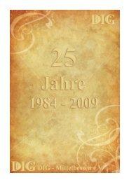 Festschrift 25 Jahre DIG
