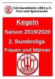 TuS Gerolsheim 2. Bundesliga 2019-20