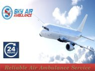 Take Top-Most Medical Facility by Air Ambulance from Jamshedpur