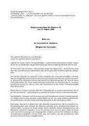 Rede von Herrn Dr. Alsheimer auf der ... - Mainova AG